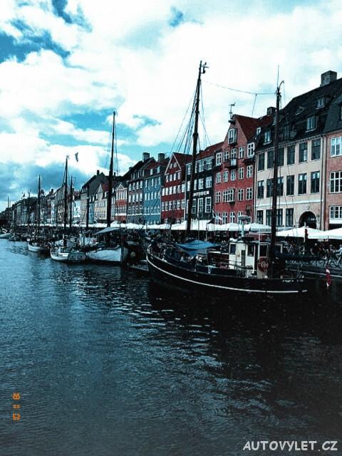 Ulice Nyhavn - Kodaň Dánsko