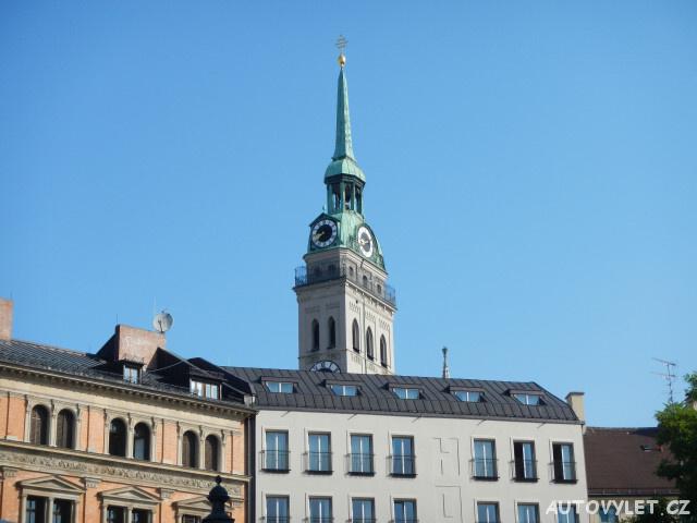 Úzká věž Sv. Petra s vyhlídkou