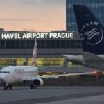 Přílet na letiště Václava Havla v Praze video