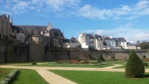 Vannes Bretaň Francie