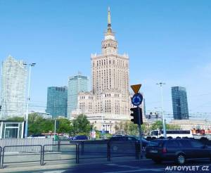 Palác kultury - Varšava Polsko
