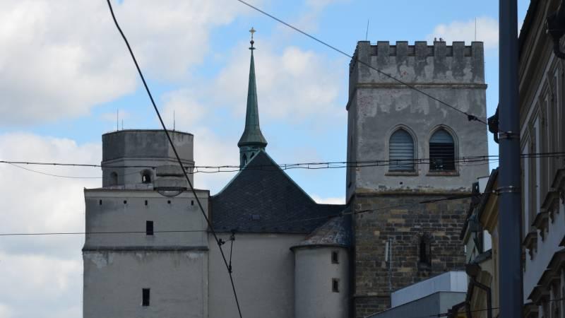 věž kostela sv.mořice olomouc