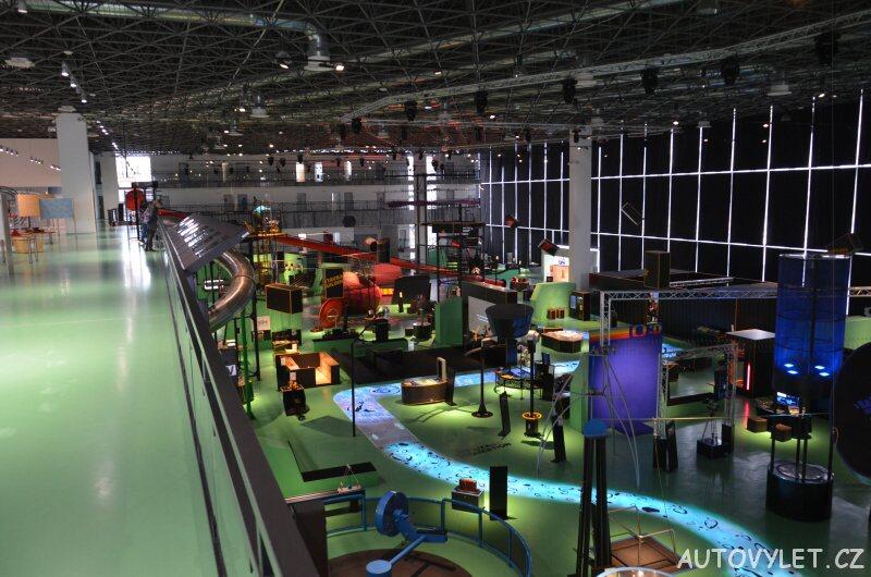 Vida Brno vědecké zábavní centrum 2
