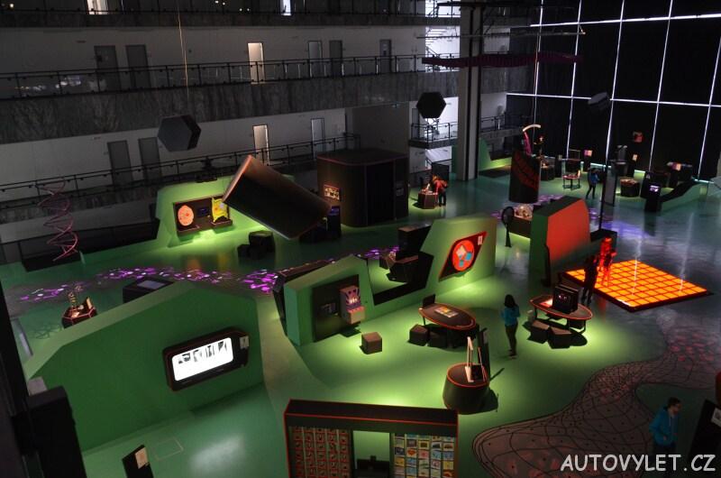 Vida science centrum Brno vědecký zábavní park 2