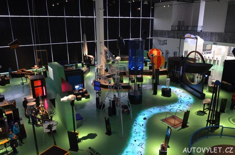Vida science centrum Brno vědecký zábavní park 5