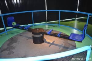 Vida science centrum Brno vědecký zábavní park - kolotoč