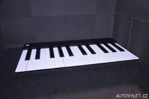 Vida science centrum Brno vědecký zábavní park - piano