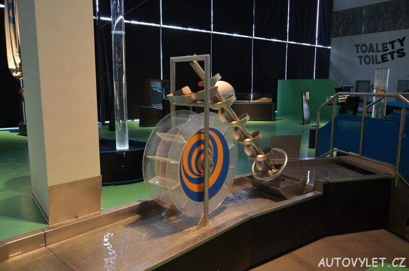 Vida science centrum Brno vědecký zábavní park - vodní svět