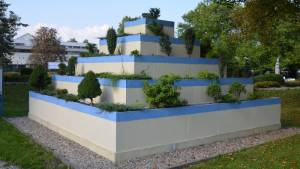 Visuté zahrady Semiramidiny v Babylonu