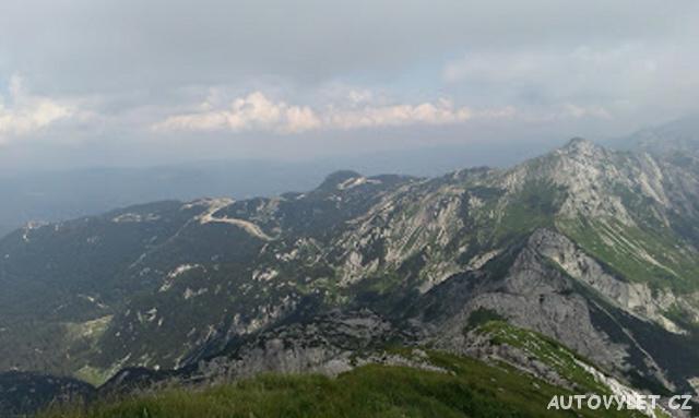 Vogel Slovinsko - výhled z vrcholu