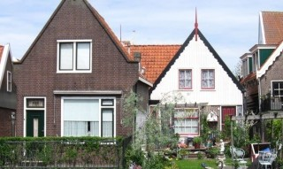 Volendam vesnička v Holandsku