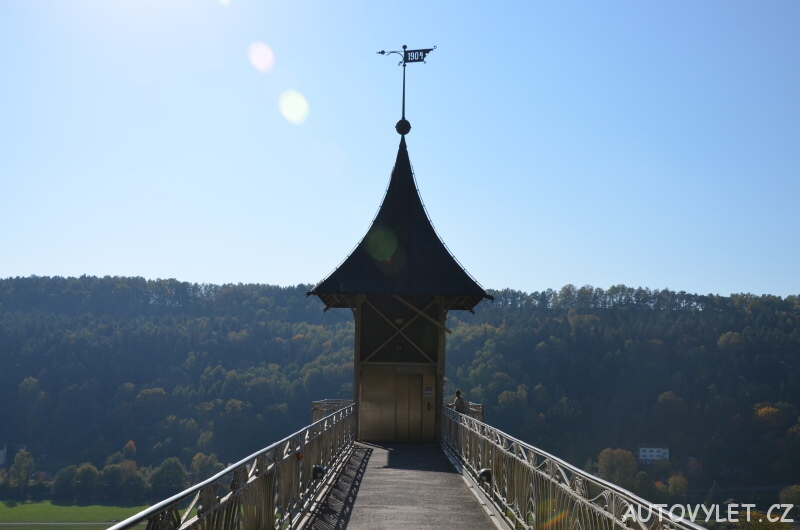 Vyhlídka Historický výtah Bad Schandau Německo