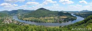 vyhlídka mlynářův kámen české středohoří