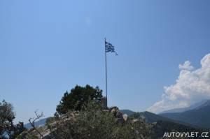 Vyhlídka Thassos Řecko