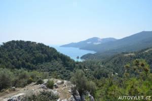 Vyhlídka Thassos Řecko 3