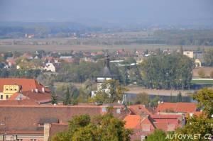 Vyhlídková věž Hláska v Roudnici nad Labem