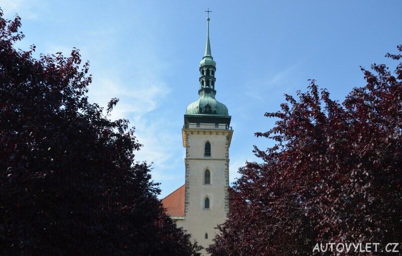 Vyhlídková věž kostela v Mostě 2