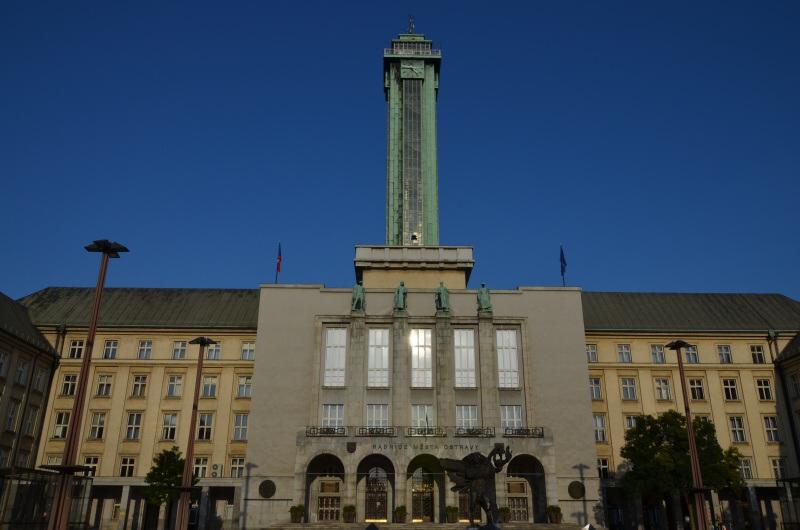 Vyhlídková radniční věž Nová radnice Ostrava