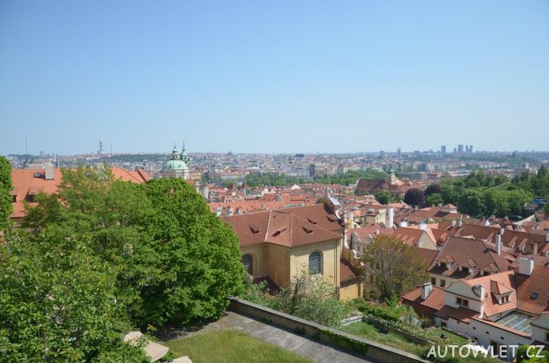 Vyhlídkové místo - Pražský hrad