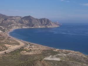 Výlet na Torre del Rayo pohled z věže na Playa del Algarrobico