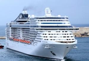 výletní loď msc splendida 1