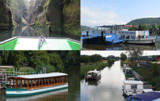 Výlety lodí v Čr