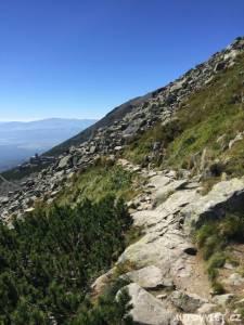 Cesta na Velkou Svišťovku - Vysoké Tatry