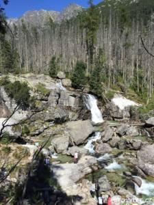 Vodopády Studeného potoka - Vysoké Tatry
