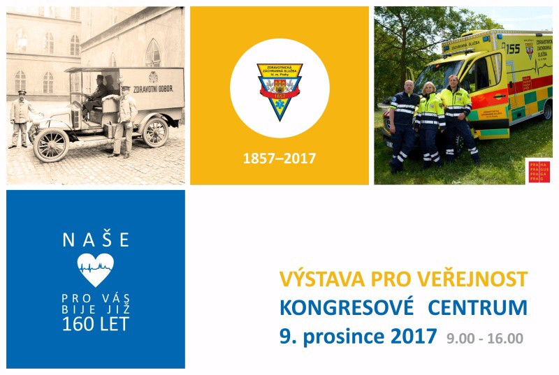 Výstava ke 160 letům pražské záchranky
