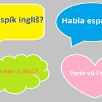 Je možné procestovat Evropu bez znalosti cizího jazyka?