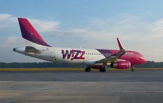 Wizzair letadlo