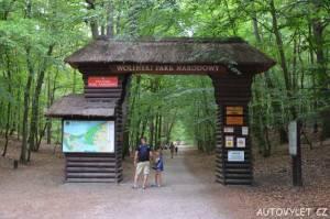 Wolinský národní park - Mezizdroje Polsko - vstup