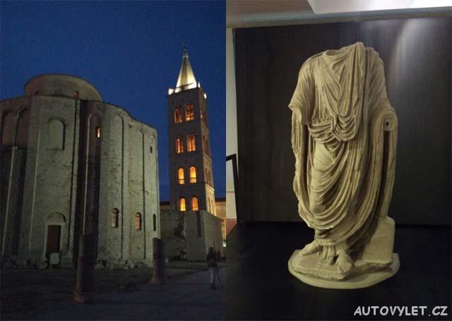 Zadar - archeologické muzeum - Chorvatsko 2