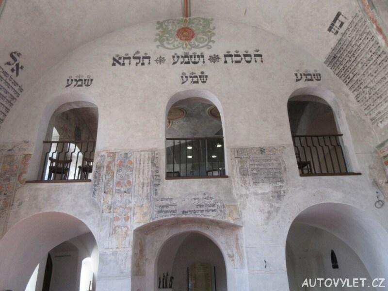 Zadní část synagogy v Třebíči