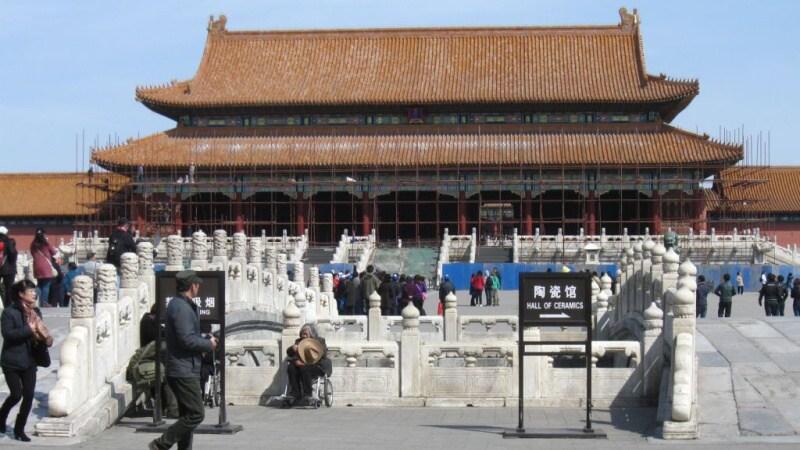 zakázané město peking