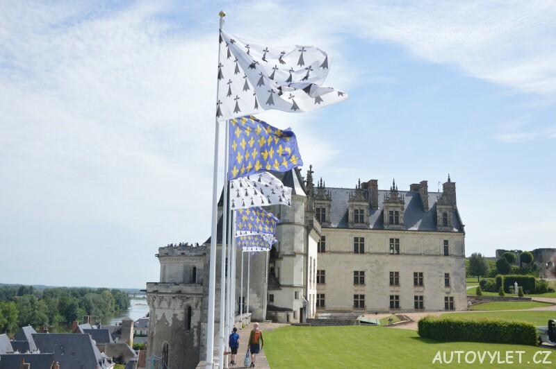zámek amboise francie