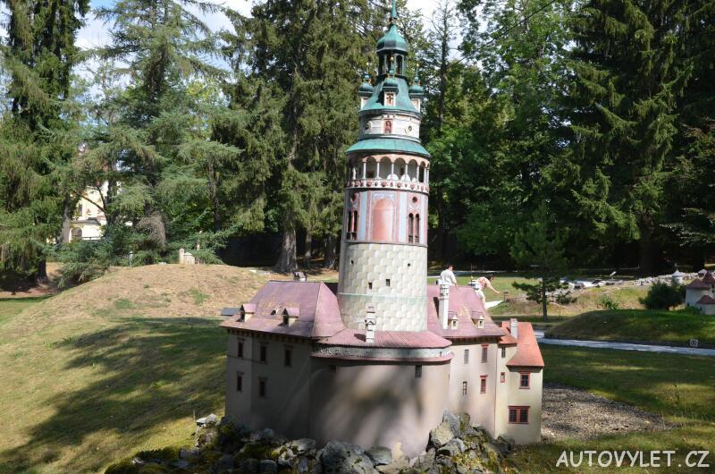 Zámek Český Krumlov - Boheminium Park Mariánské Lázně