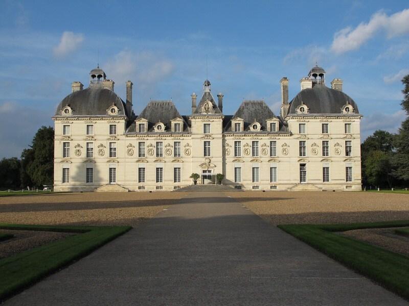 zámek cheverny loire francie