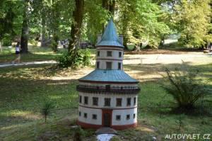 Zámek Humprecht Sobotka - Boheminium Park Mariánské Lázně