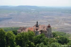zámek jezeří horní jiřetín