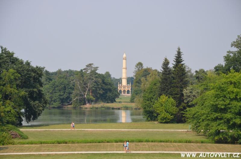Zámek Lednice - minaret