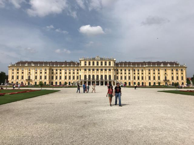 Zámek Schonbrunn - Vídeň Rakousko