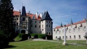 zamek zleby