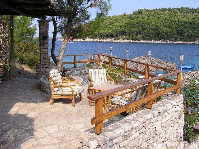 Zátoka sever - ostrov Korčula Chorvatsko