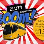 ŽLUTÝ BOOM – Autobusem do Polska za 139 Kč !!!