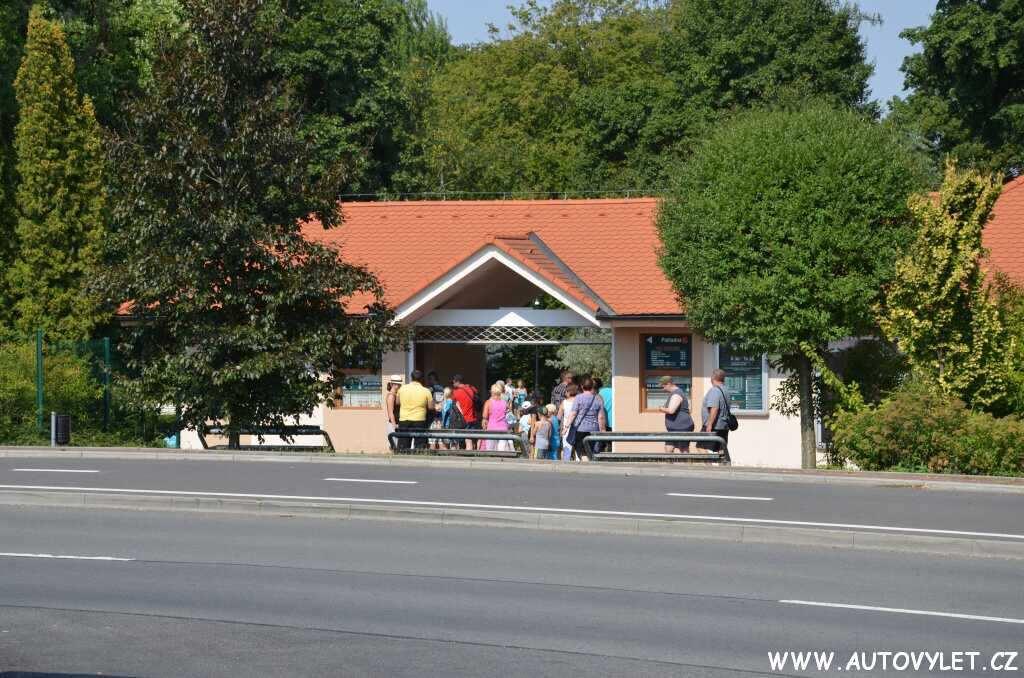 Zoo Lešná pokladna