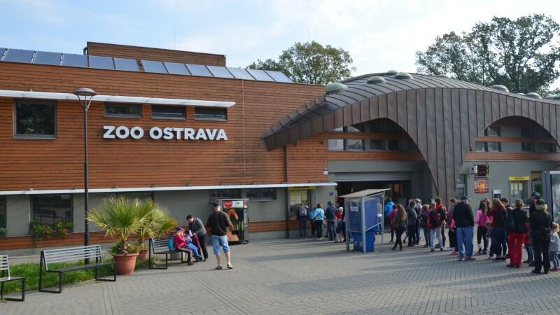 Zoo Ostrava hlavní vchod