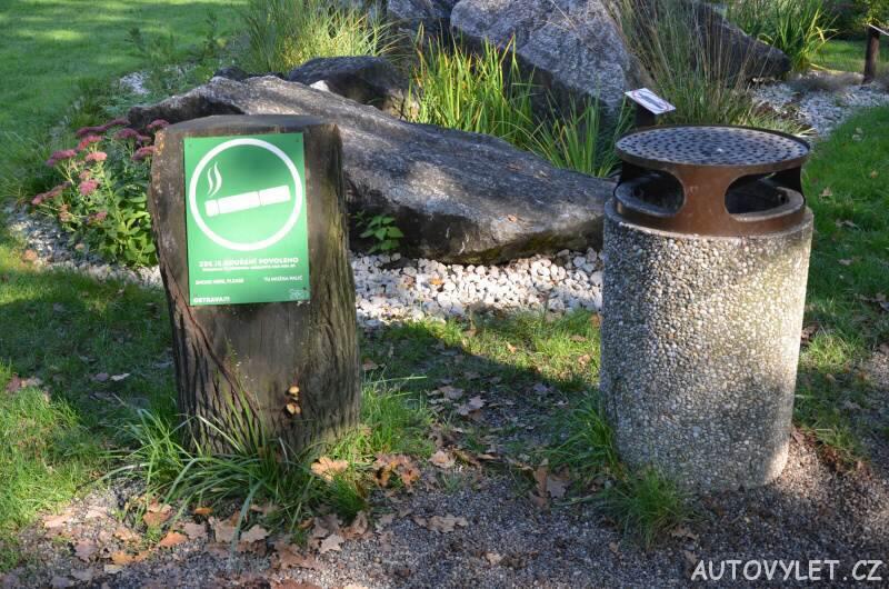 zoo ostrava kuřácký koutek