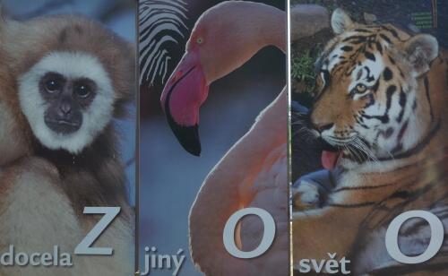 zoo plzeň cedule