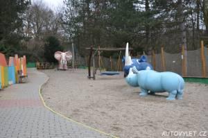 Dětské hřiště - Zoo Ústí n L